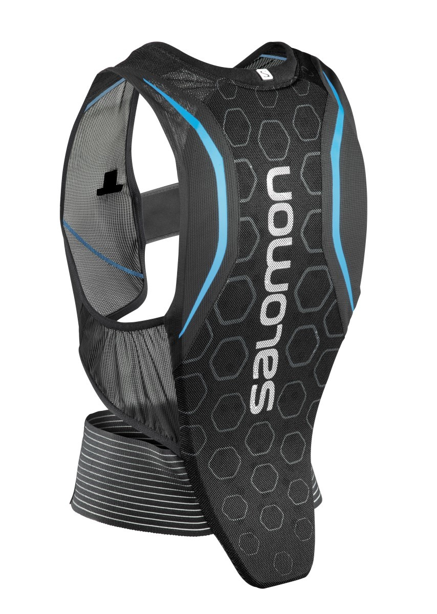 Salomon M Backprotector Flexcell Blauw XS