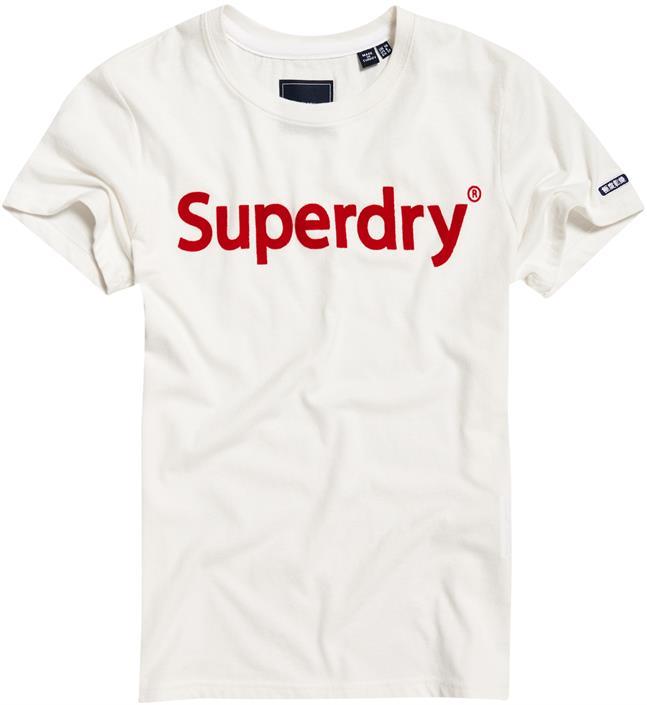 Superdry Reg Flock Entry Tee 2021