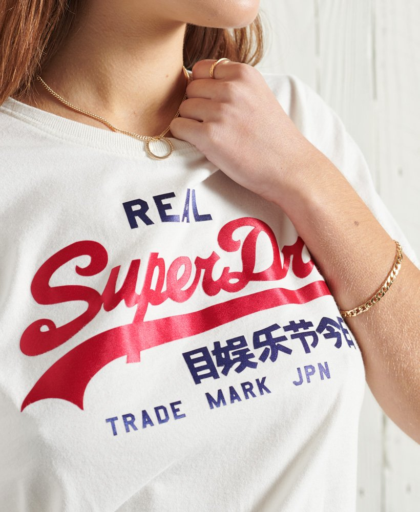 Superdry Vl Duo Satin Entry Tee 2021