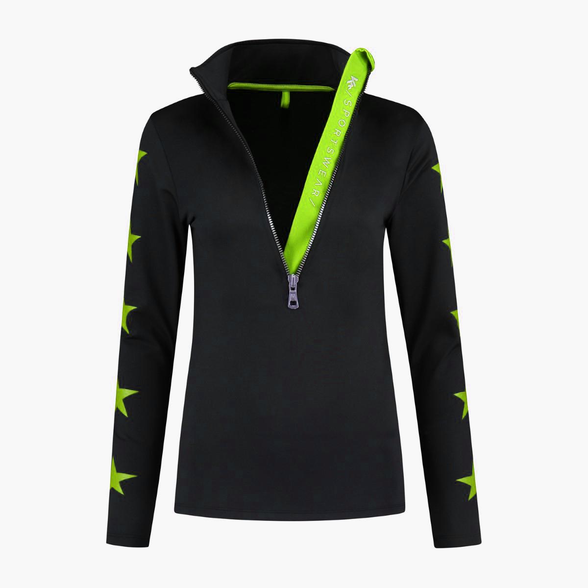 Kou Sportswear Pully Stars Neogreen 2021