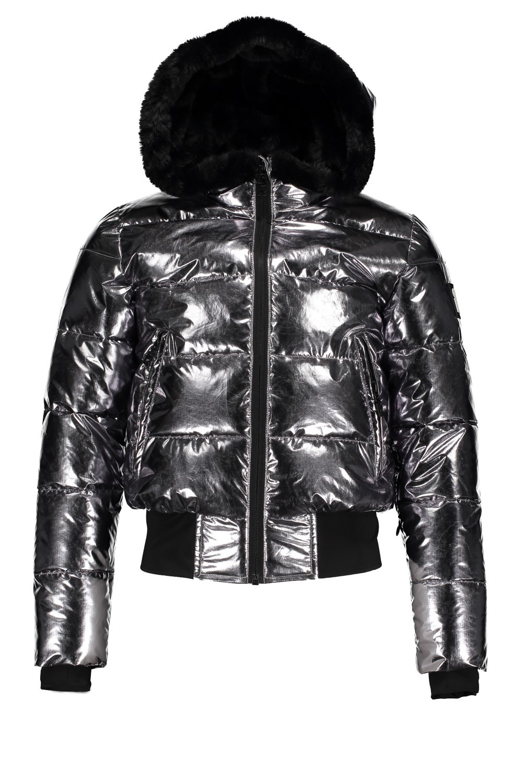 Superrebel G Basic Metalic Girls Ski Jacket _ R009_5286 2021