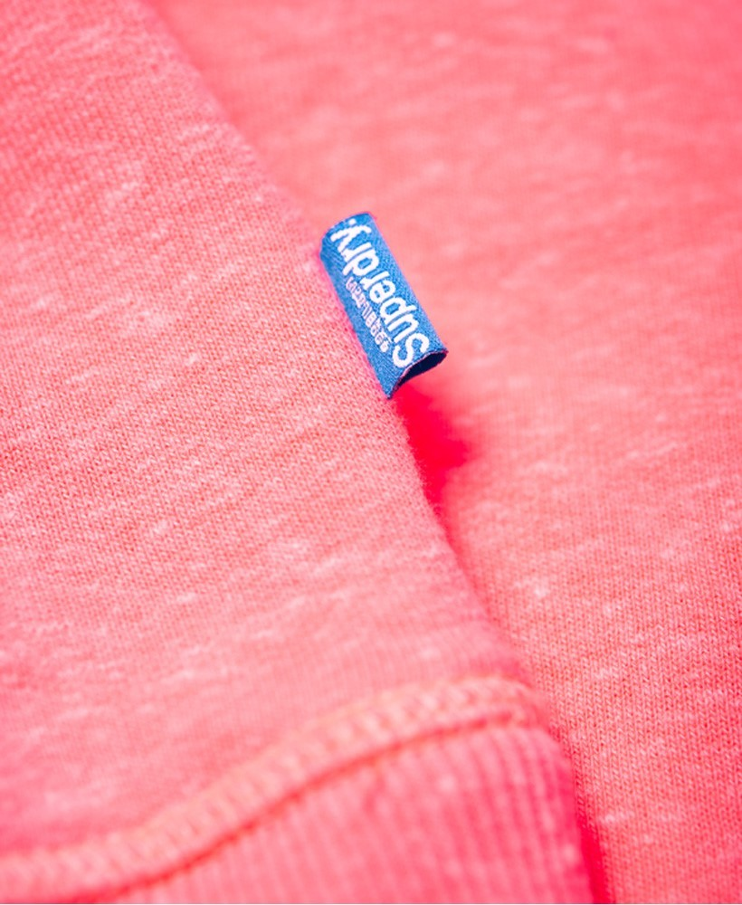 Superdry W Vintage Logo Rhinestone Pop Entry Hood