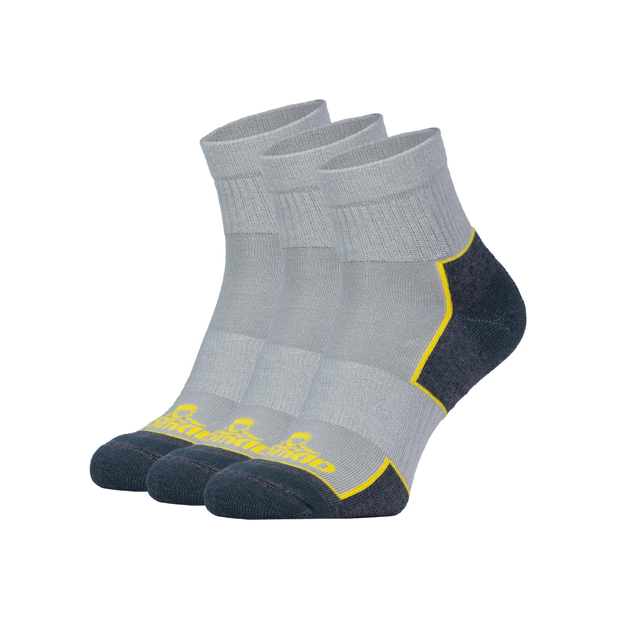 Nomad 3-pack quarter walking sock